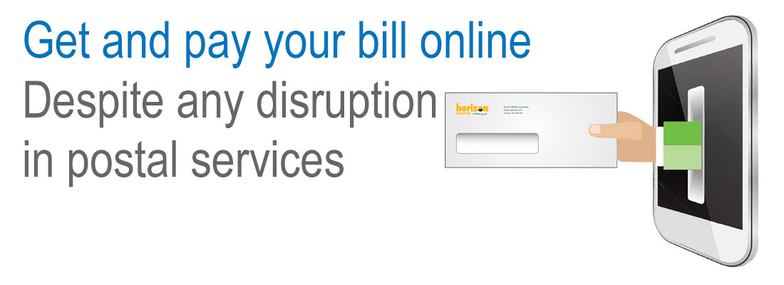 Make sure you receive your bill (Banner Image)
