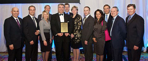 Horizon receiving Environmental Award